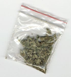 baggie of marijuana
