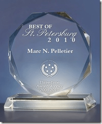 Best of St. Petersburg Award