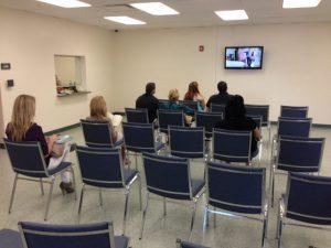 Pinellas Misdemeanor Probation waiting room