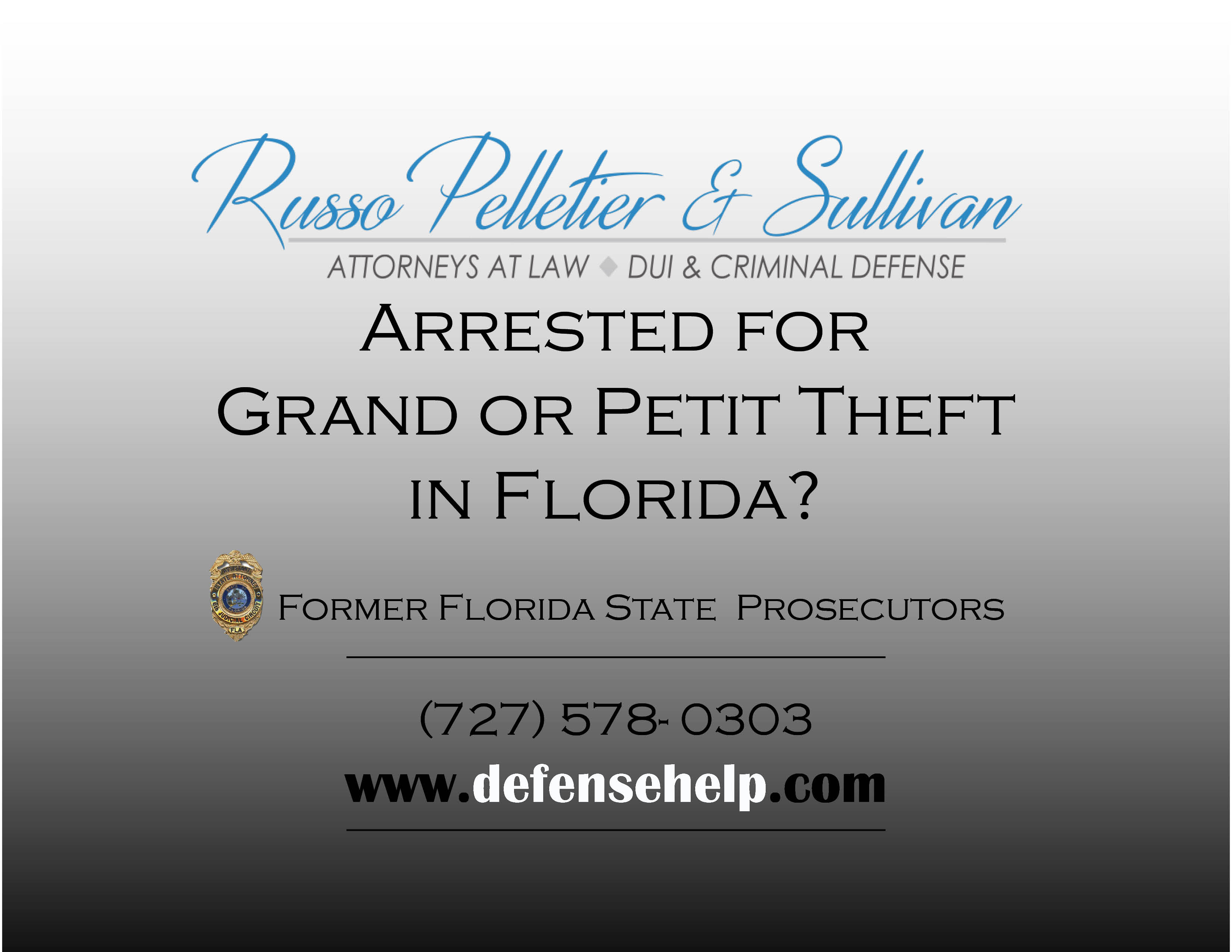 First time offenders pinellas criminal attorney free consultation grand theft arrest avoiding a conviction in st petersburgclearwaterpinellas florida solutioingenieria Images