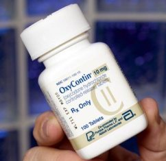Oxycontin pill bottle 10mg