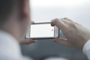 Using a smart phone for video voyeurism